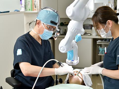 質の高い歯科医療を提供するために