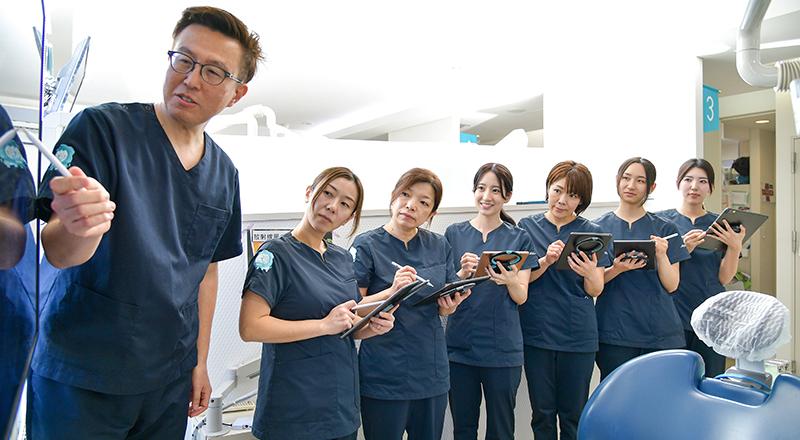 >予防重視・教育サポート・衛生管理」を大切にする医院で、<br> 歯科衛生士としてやりがいを持って、一緒に働きませんか?