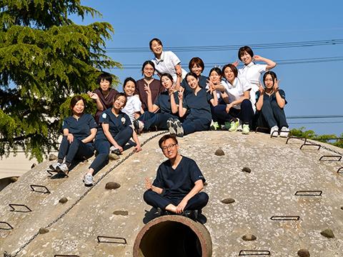 アットホームな雰囲気で、笑顔が溢れる医院
