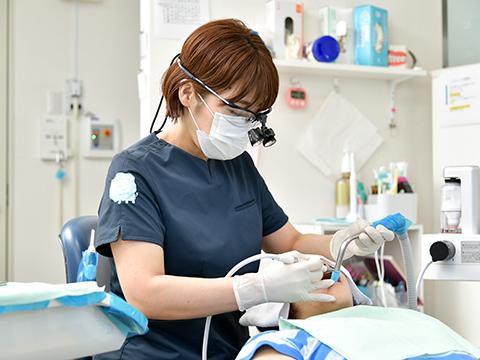 自分や家族でも安心して通える歯科医院